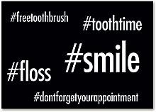 floss brush smile